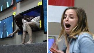 'El Aro 3': Samara cobra vida para realizar macabra broma en tienda de electrodomésticos