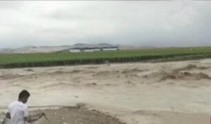 Ica: huaicos causan graves daños en viviendas y afectan cultivos