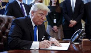 Donald Trump firmó orden para construir muro fronterizo con México