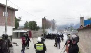 Ayacucho: durante desalojo se registraron enfrentamientos entre policías e invasores