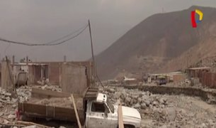 Huaico en Chosica: vecinos piden ayuda tras destrucción de viviendas