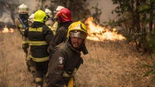 Chile: incendios forestales se cobran la vida de otro bombero