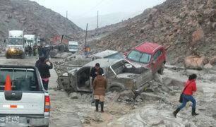 Arequipa: tres muertos por caída de huaico en la carretera Panamericana Sur