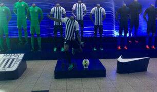 Alianza Lima: así fue la presentación de la camiseta 'blanquiazul'