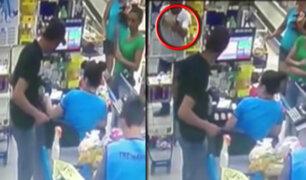 Brasil: policía vestido de civil frustra robo en supermercado