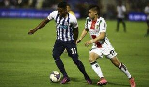 Alianza Lima cayó 2-0 ante Palestino en la 'Noche Blanquiazul'