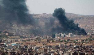 Más de 30 civiles mueren tras bombardeos en Yemen