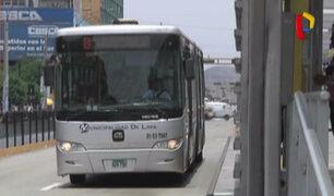 Malestar de pasajeros por falta de ventilación en buses del Metropolitano