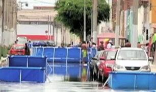 Limeños continúan desperdiciando agua en piscinas