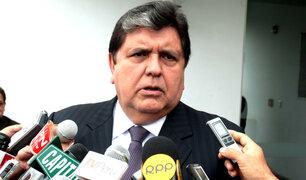 Alan García respalda retiro de embajador peruano de Venezuela