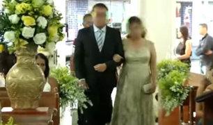 Impactantes imágenes: sujeto irrumpe en boda y desata balacera
