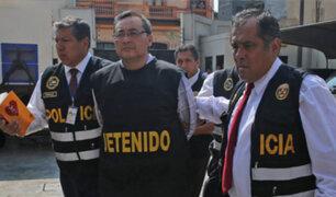 Caso Odebrecht: Jorge Cuba fue trasladado a carceleta del Poder Judicial