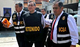 Jorge Cuba ya se encuentra recluido en penal de Piedras Gordas