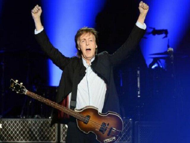 Paul McCartney afirma que ya no dará autógrafos