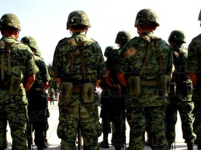 Miembros del Ejército son detenidos por robo de combustible