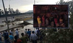 Desborde del río Huaycoloro: damnificados durmieron en las calles en SJL