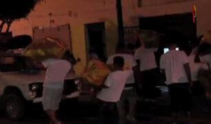 La Victoria: comerciantes fueron desalojados de una galería ocupada ilegalmente