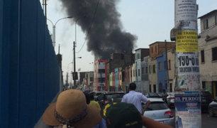 La Victoria: más de 40 viviendas fueron afectadas por incendio