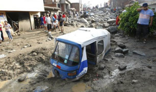 ANA: estudio revela 1,090 centros poblados vulnerables en el país por deslizamientos