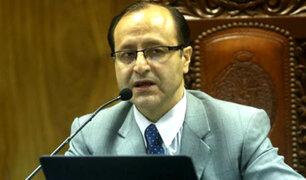 Ministerio Público abrió investigación preliminar a fiscal Hamilton Castro