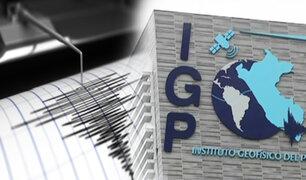 IGP: en lo que va del año se han registrado 743 sismos a nivel nacional