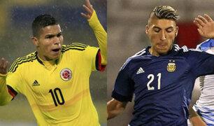 Sudamericano Sub 20: Argentina derrotó 2-1 a Colombia en segunda fecha del hexagonal