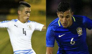 Brasil cayó 2-1 ante Uruguay por el Sudamericano Sub 20
