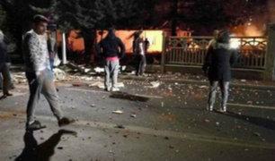 Francia: al menos cuatro heridos por explosiones en Paris