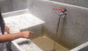 Agua con barro reciben en sus casas vecinos de Santa Eulalia