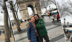 Fotografías muestran a Alejandro Toledo paseando por París