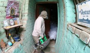 Minsa: fumigan viviendas en Chaclacayo y Chosica tras huaicos