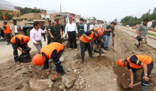 Más de 72,000 personas afectadas por inundaciones y huaicos en diferentes regiones