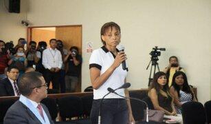 Caso Odebrecht: Jessica Tejada apelará medida de prisión preventiva en su contra
