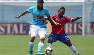 Sporting Cristal empató 0-0 ante Unión Comercio