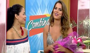 Toda la belleza de nuestra Miss Perú Valeria Piazza en Combinado