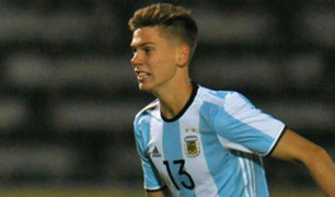 Argentina y Brasil empataron 2-2 en Sudamericano Sub 20