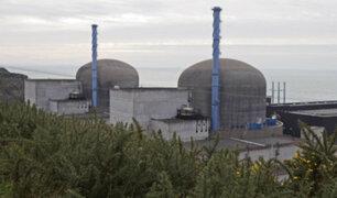 Se registra fuerte explosión en planta nuclear de Francia