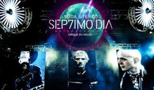 """Soda Stereo: lanza el primer tema de """"Sép7imo Día"""" para el Cirque Du Soleil"""