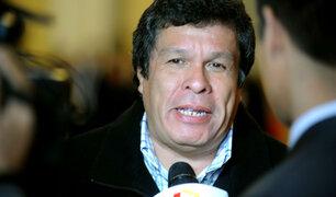Congresistas cuestionan a Heriberto Benítez como abogado de Alejandro Toledo