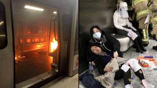 Ataque dentro de un vagón del metro de Hong Kong deja al menos 15 heridos