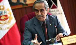 Duberlí Rodríguez descartó que pedido de extradición contra Toledo se encuentre entrampado