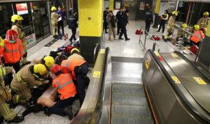 Autoridades descartan ataque terrorista en metro de Hong Kong