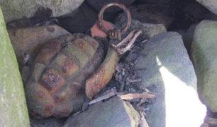 Los Olivos: familia encuentra granada en la puerta de su vivienda