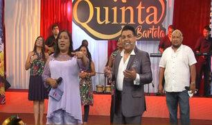 Bartola deslumbró a su público en Porque hoy es Sábado con Andrés