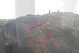 Miraflores: joven quedó atrapada en acantilado de la Costa Verde