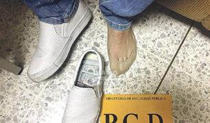 """FOTOS: futbolista """"forrado"""" con dólares ilícitos es detenido en Costa Rica"""