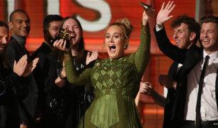 Grammy 2017: edición llena de emociones y brillantes presentaciones