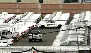 Callao: decenas de patrulleros nuevos permanecen olvidados en almacén