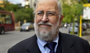 Fiscalía pidió prisión preventiva para fundador del Sodalicio, Luis Figari