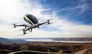 Dubái: taxi volador empezará a funcionar a partir de julio